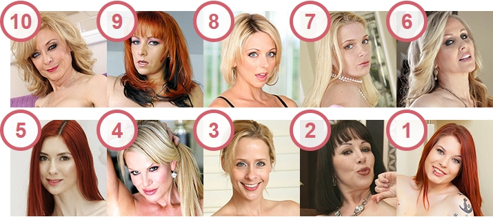 Top 10 Mature Porn Stars With Pale White Skin