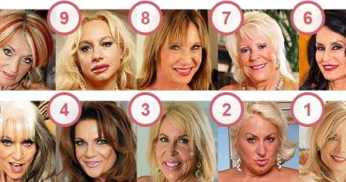 TOP 10 Hottest Mature Women Over 60