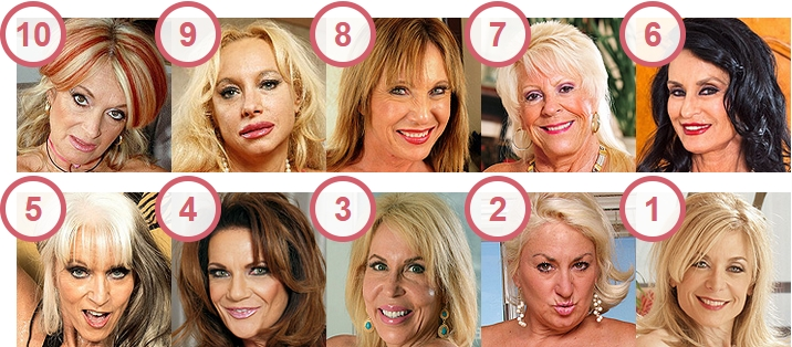 TOP 10 Hottest Mature Women Over 60